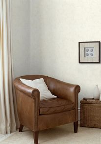 White wall dr woodchip cover plaster wallpaper