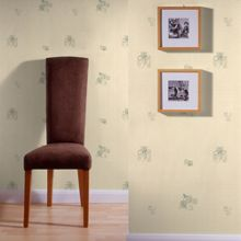 Graham & Brown Green Camille Floral Motif Wallpaper