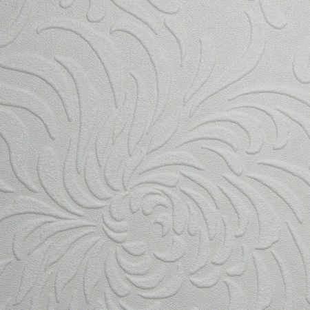 Graham & Brown White chrysanthemum wallpaper