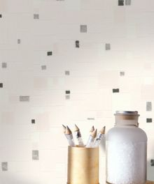 Graham & Brown Black & white spa wallpaper
