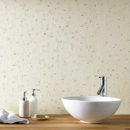 Graham & Brown Beige spa wallpaper