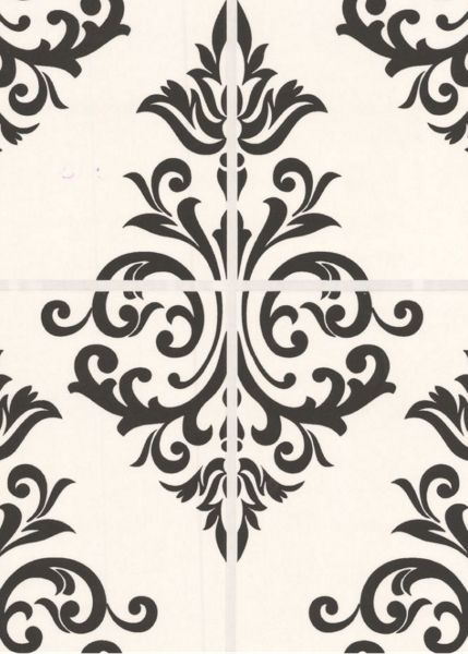 Graham & Brown Pallade black & white wallpaper