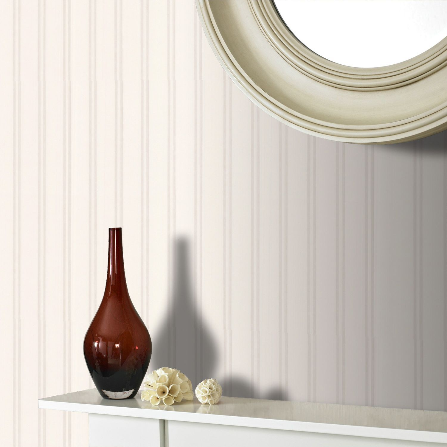 White wall doctor beadboard wallpaper