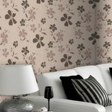Graham & Brown Chocolate/beige rapture wallpaper
