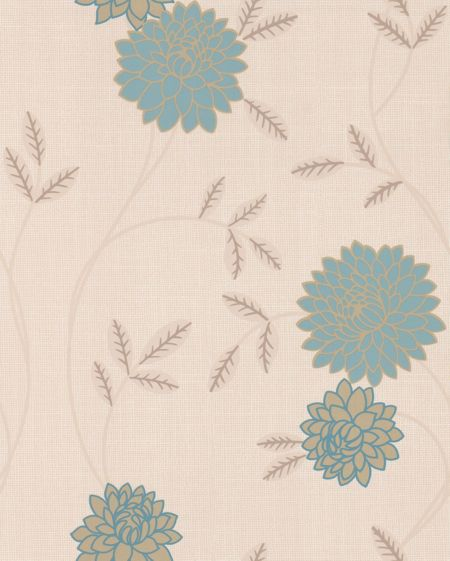 Graham & Brown Light ble teal shaan wallpaper