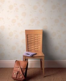 Graham & Brown Cream neutral botanic wallpaper
