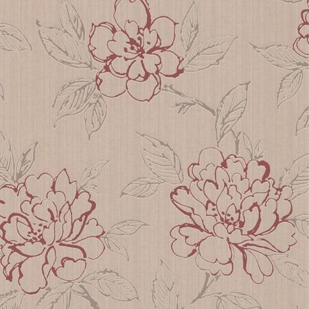 Graham & Brown Red bloom wallpaper