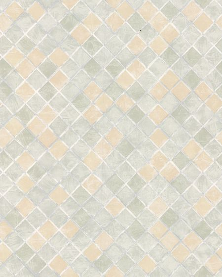 Graham & Brown Pale green diamond chalk wallpaper