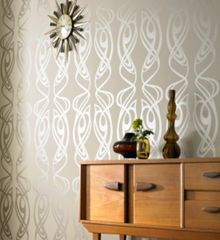 Graham & Brown Oyster diva wallpaper