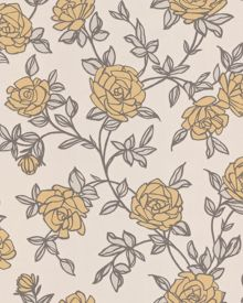 Yellow rosa wallpaper