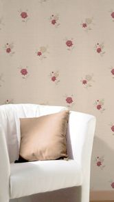 Graham & Brown Red rosalyn wallpaper