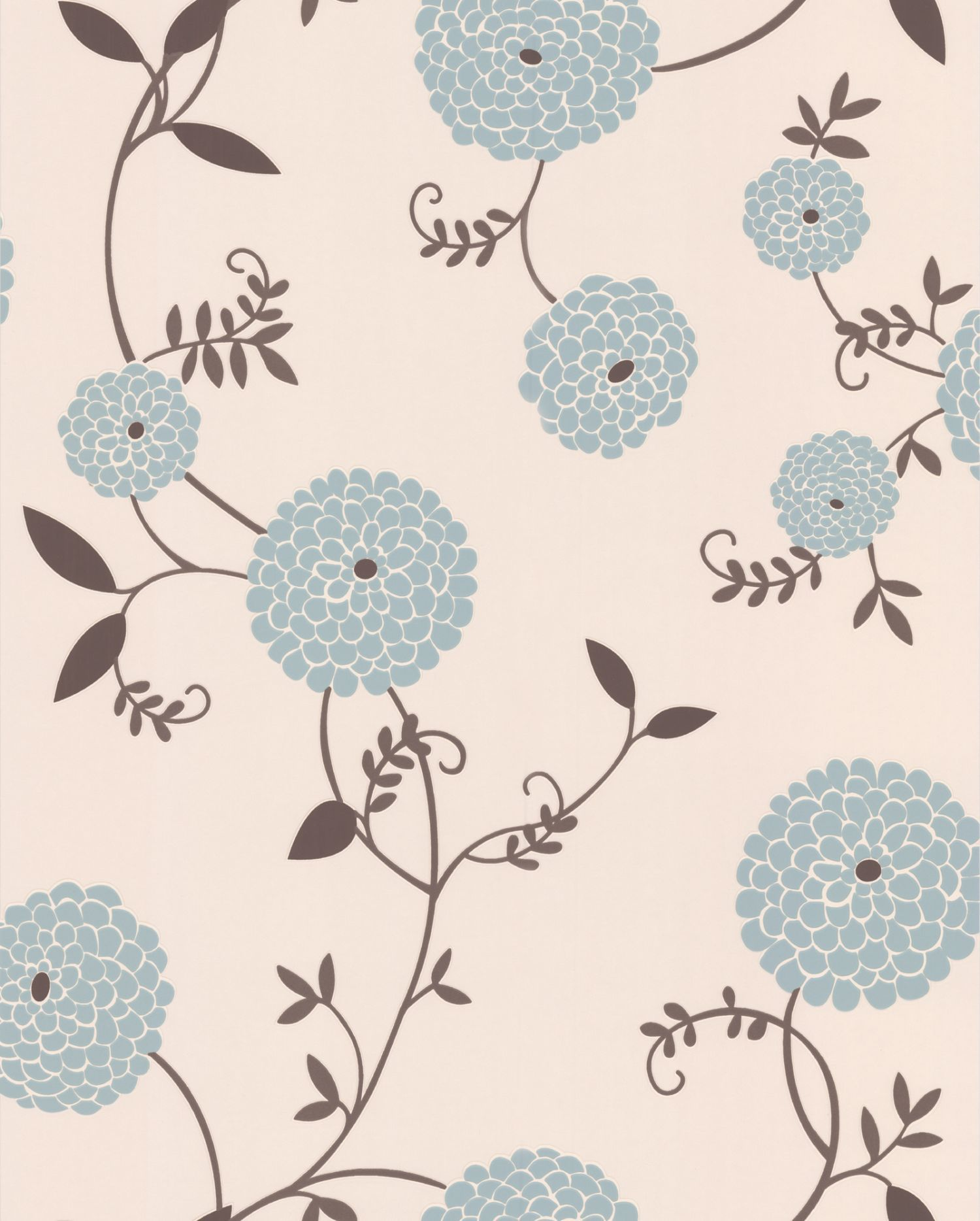 Light blue mae duck egg wallpaper