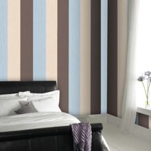 Graham & Brown Duck Egg Java Stripe Wallpaper