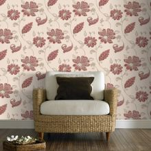 Graham & Brown Red juliet wallpaper