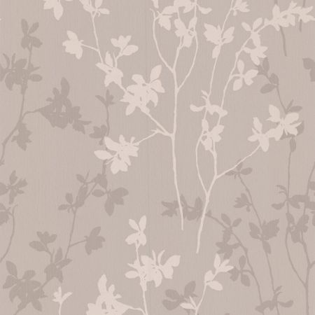 Graham & Brown Beige taupe nature wallpaper