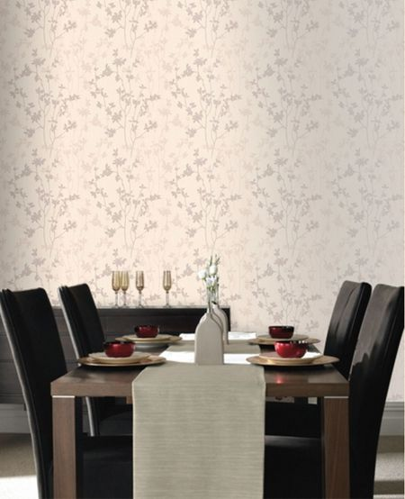 Graham & Brown Cream nature wallpaper