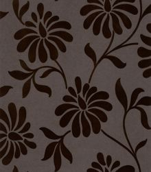 Graham & Brown Chocolate bourbon ophelia wallpaper