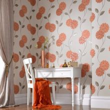 Graham & Brown Orange pippa wallpaper