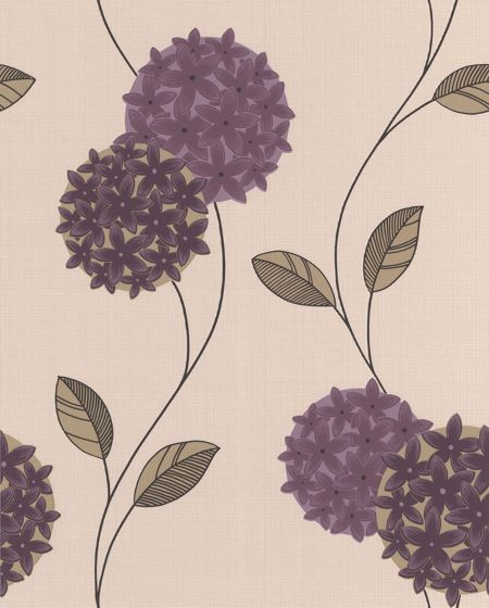 Plum pippa wallpaper