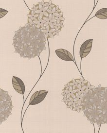 Graham & Brown Cream/stone pippa wallpaper