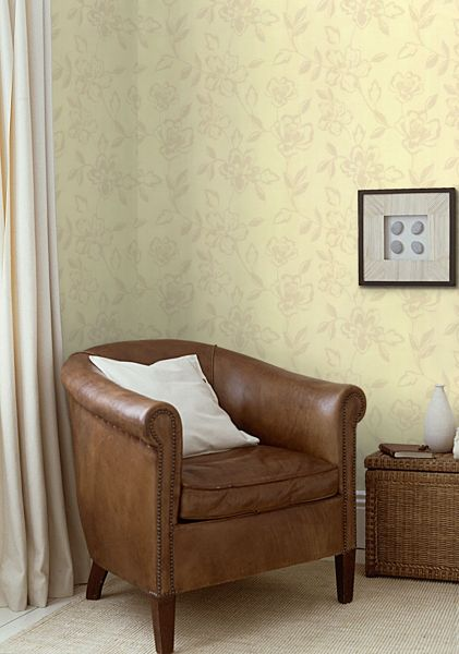Graham & Brown Cream carmen wallpaper