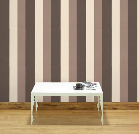 Graham & Brown Chocolate neutral figaro wallpaper