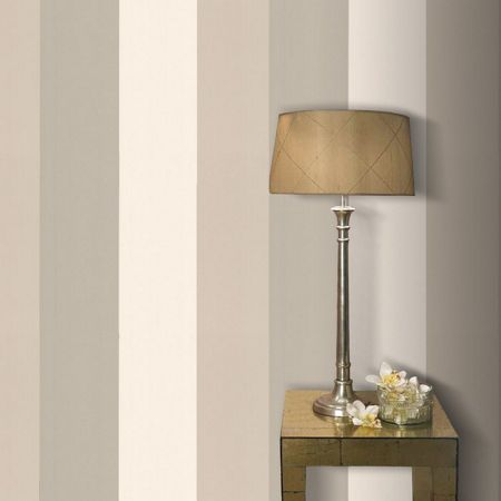 Graham & Brown Gold/oyster figaro wallpaper
