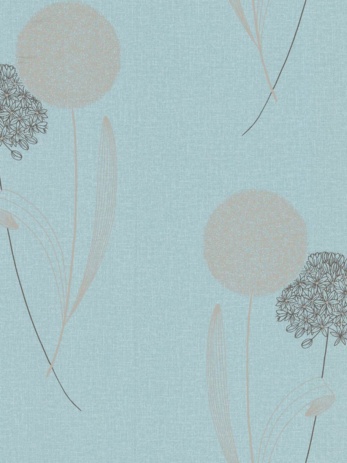 Light blue duck egg essence alium wallpaper