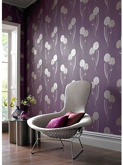 Purple damson essence alium wallpaper