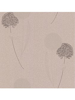 Mocha taupe essence alium wallpaper
