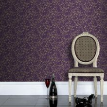 Graham & Brown Purple Morning Shadow Floral Wallpaper