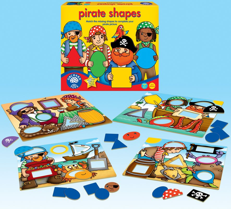 Orchard Pirate Shapes Game