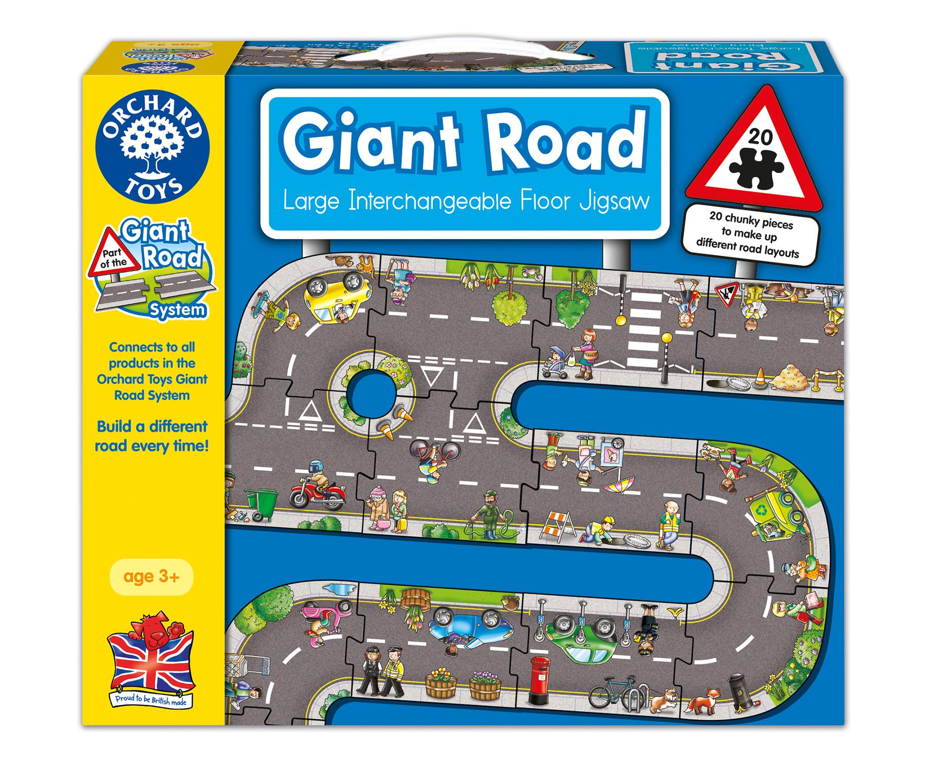 Orchard Orchard Giant Road Puzzle