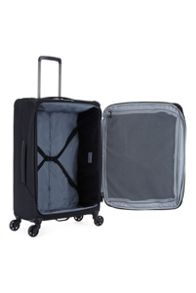 Antler Oxygen black medium 4 wheel soft suitcase