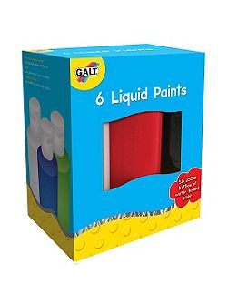 Liquid paints art set