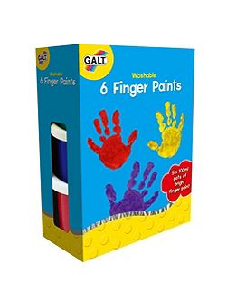 6 Finger Paints