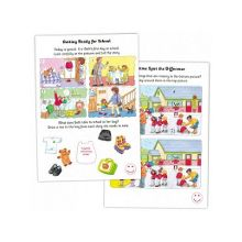 All about school sticker book