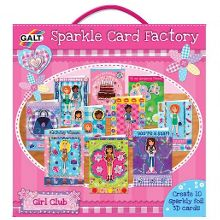 Galt Sparkle card factory