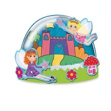 Fairy glitter domes crafts set