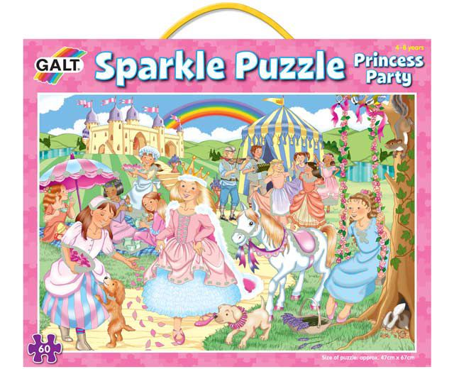 Galt Sparkle Princess Party Puzzle 60pc