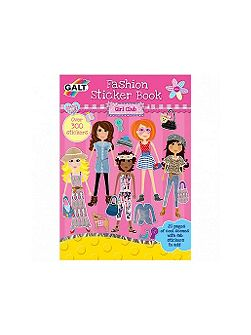 Fashion sticker book