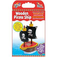Galt Wooden Pirate Ship Craft Set