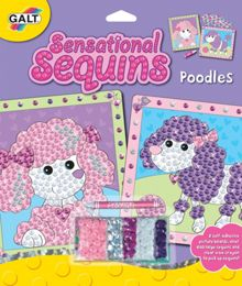 Galt Sensational Sequins Art Set - Poodles