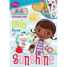 Doc mcstuffins sticker pad