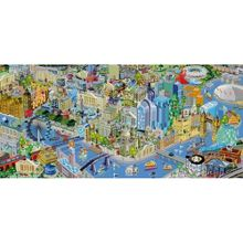 Gibsons puzzles View From The Shard 636 Piece Puzzle