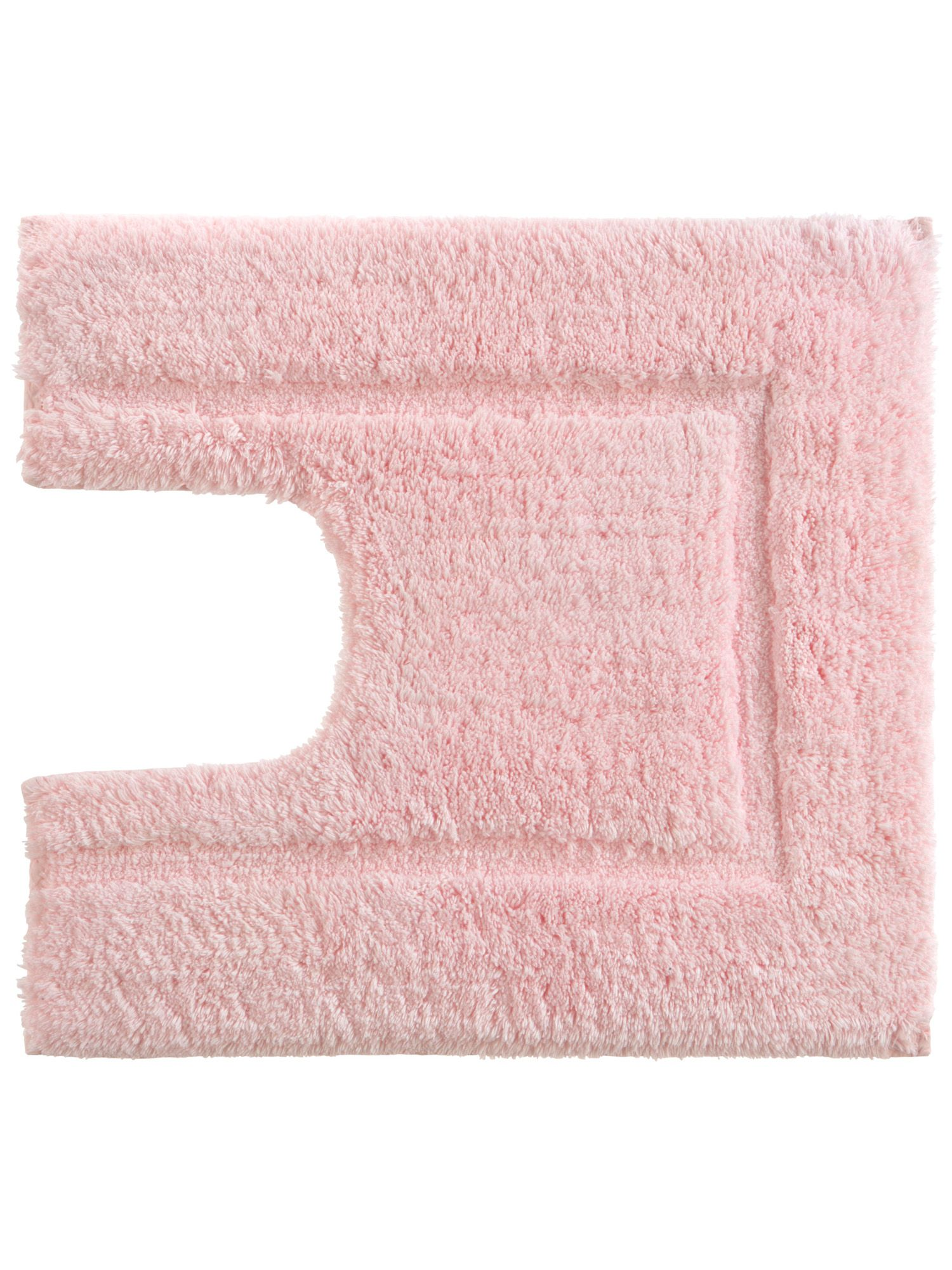 Tufted ped mat 5x55 pink by Christy
