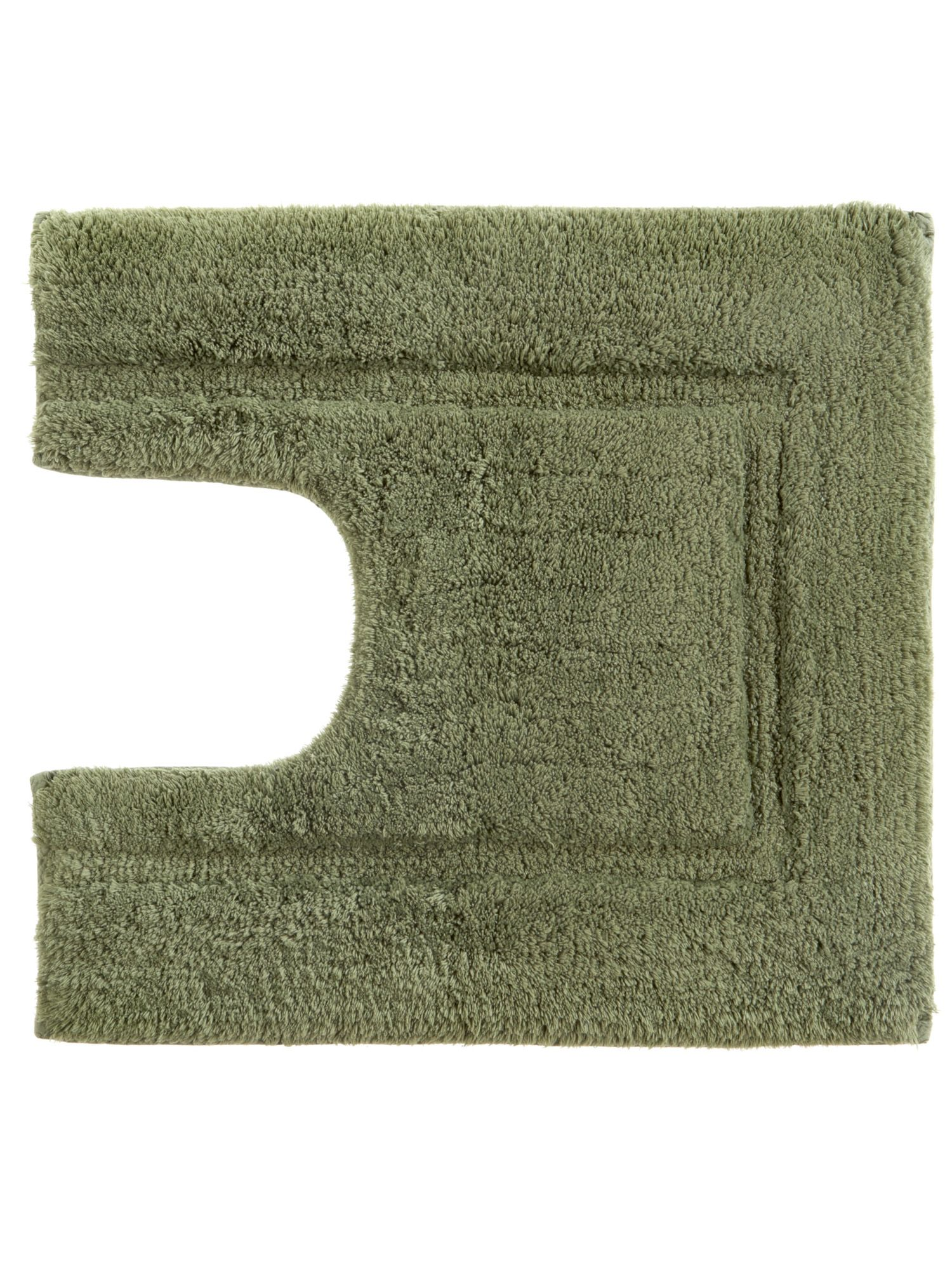 Tufted ped mat 5x55 moss by Christy