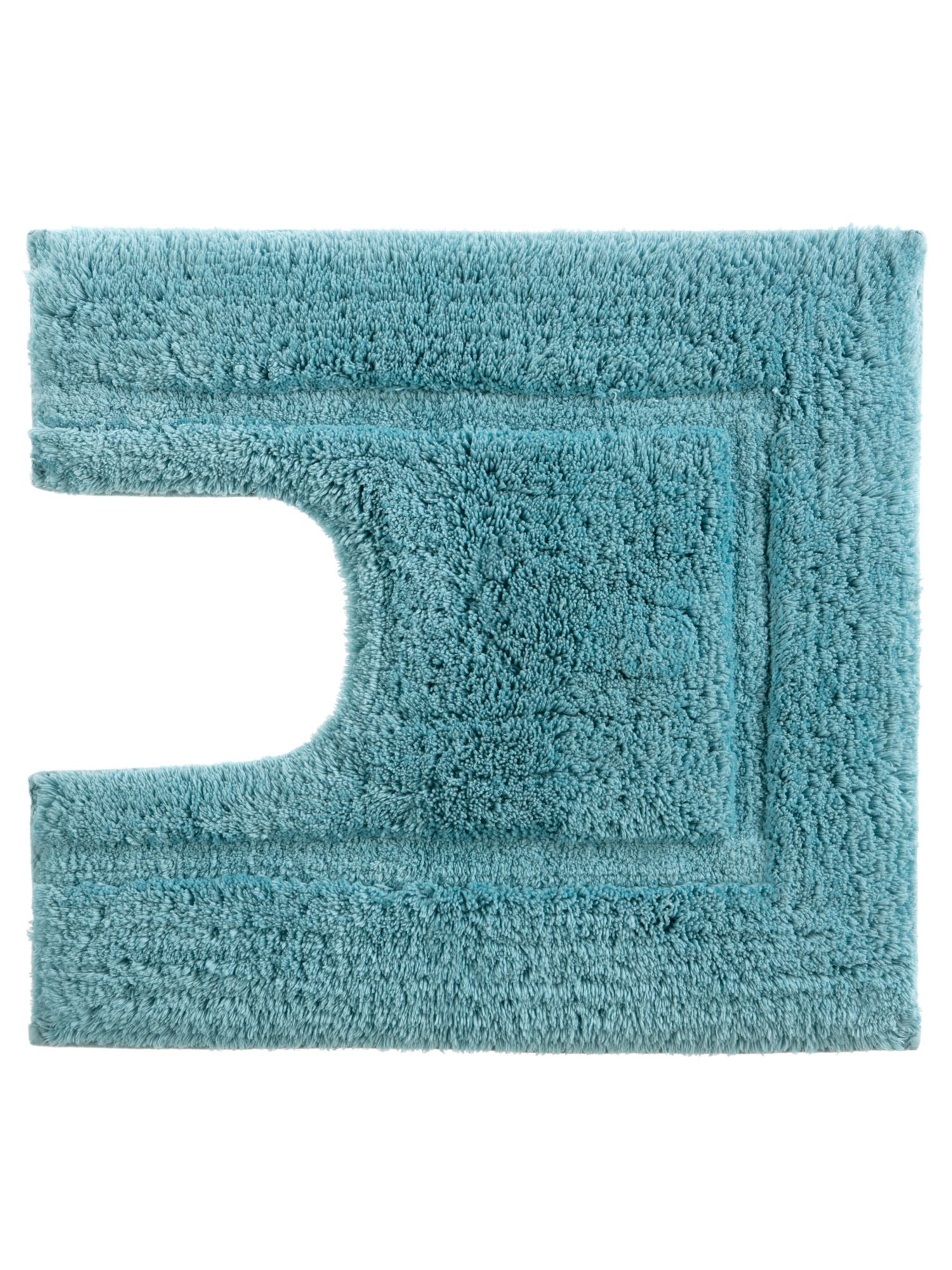 Tufted ped mat 5x55 lagoon by Christy