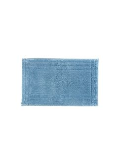 Small rug soft chambray