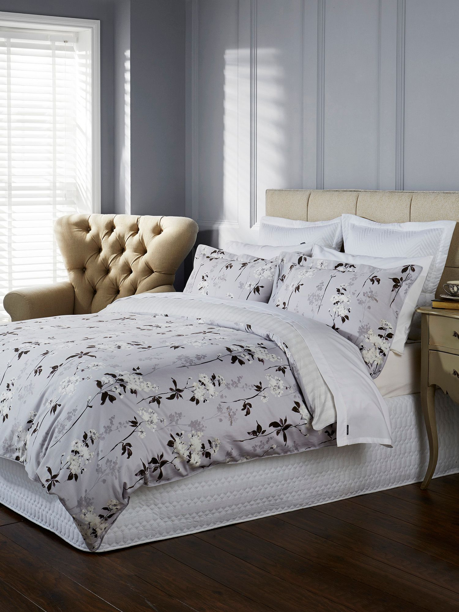 Jemima Single Duvet Lilac